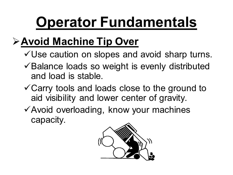 Operator Fundamentals