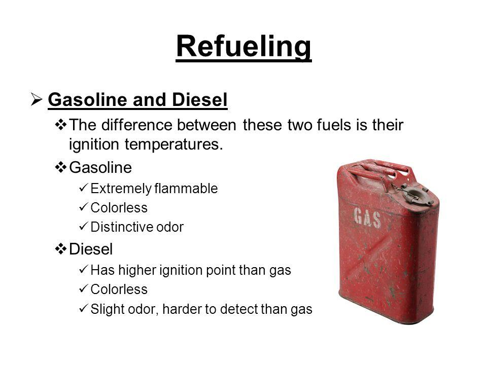 Refueling Gasoline and Diesel