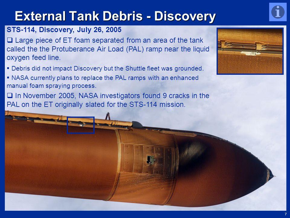 External Tank Debris - Discovery