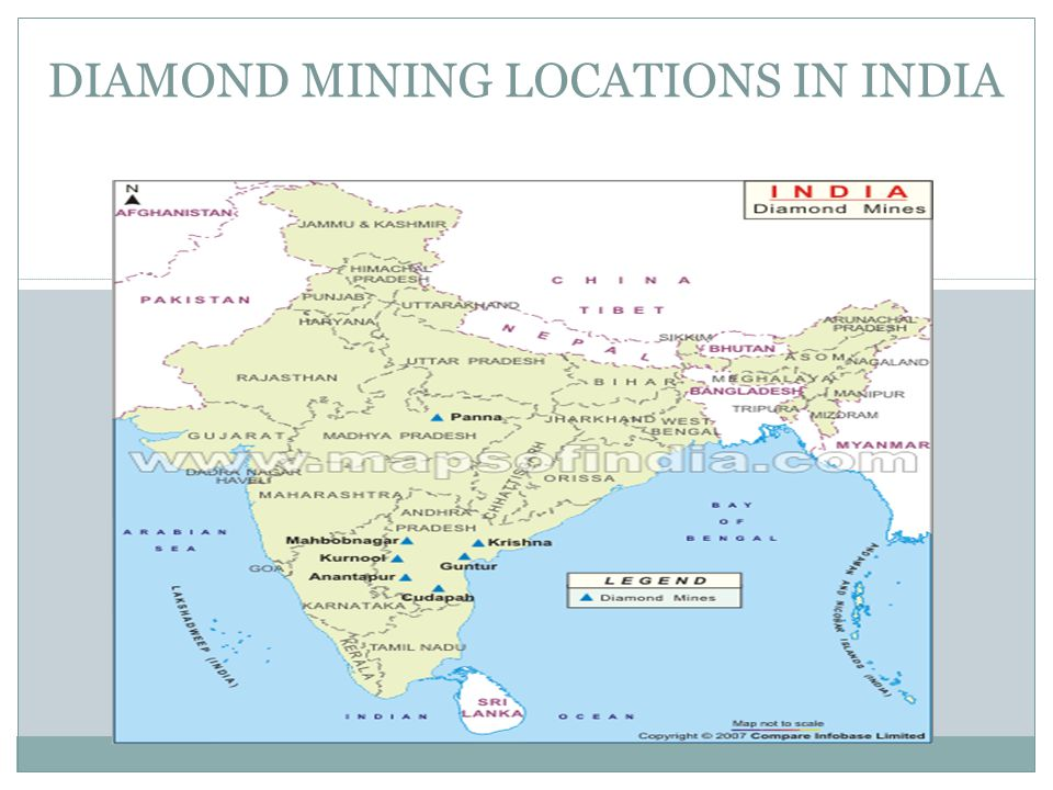 DIAMOND MINING LOCATIONS IN INDIA