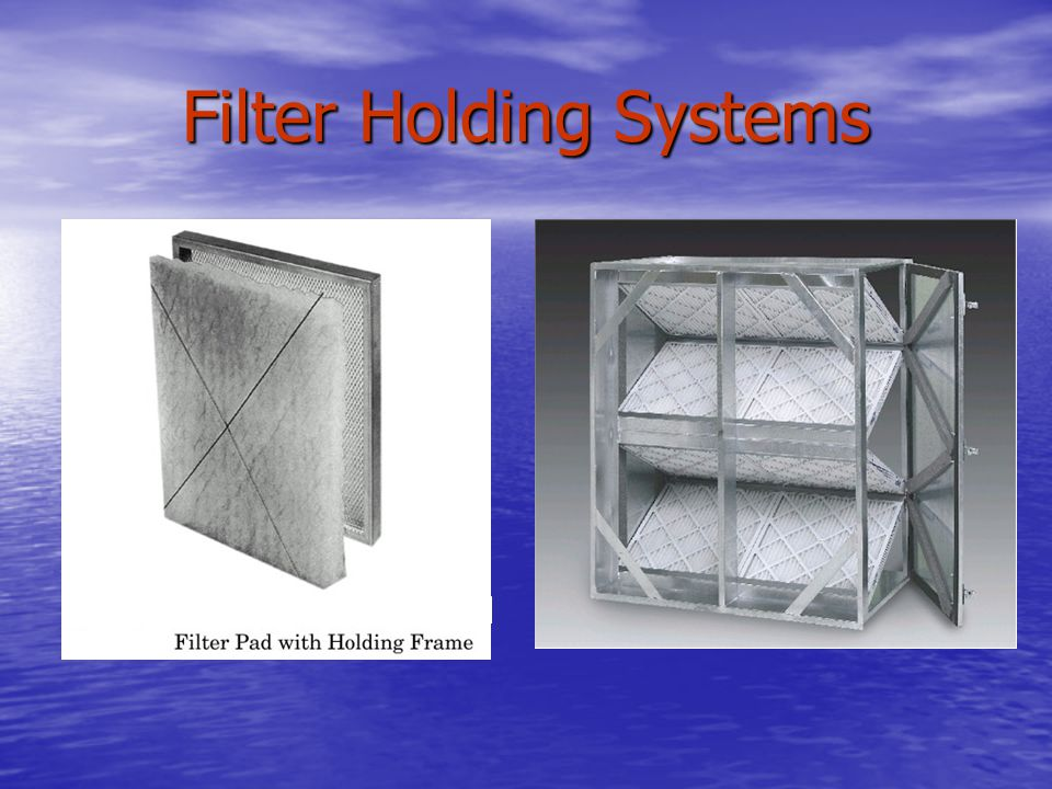 Filter Holding Systems