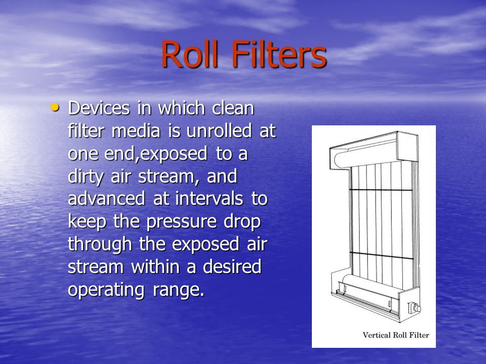 Roll Filters