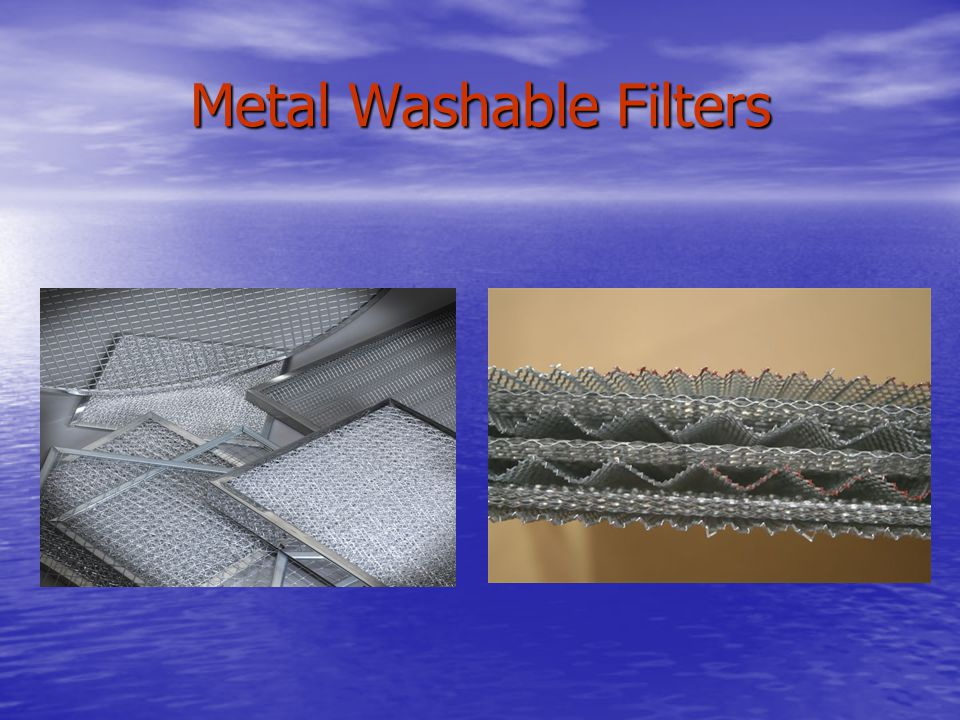 Metal Washable Filters