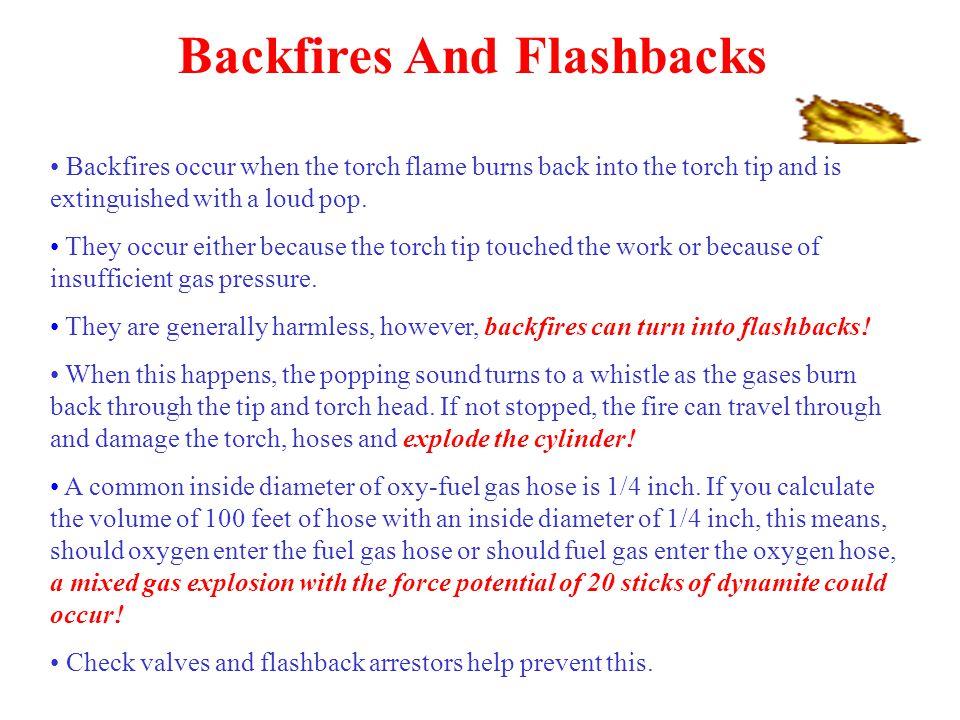 Backfires And Flashbacks