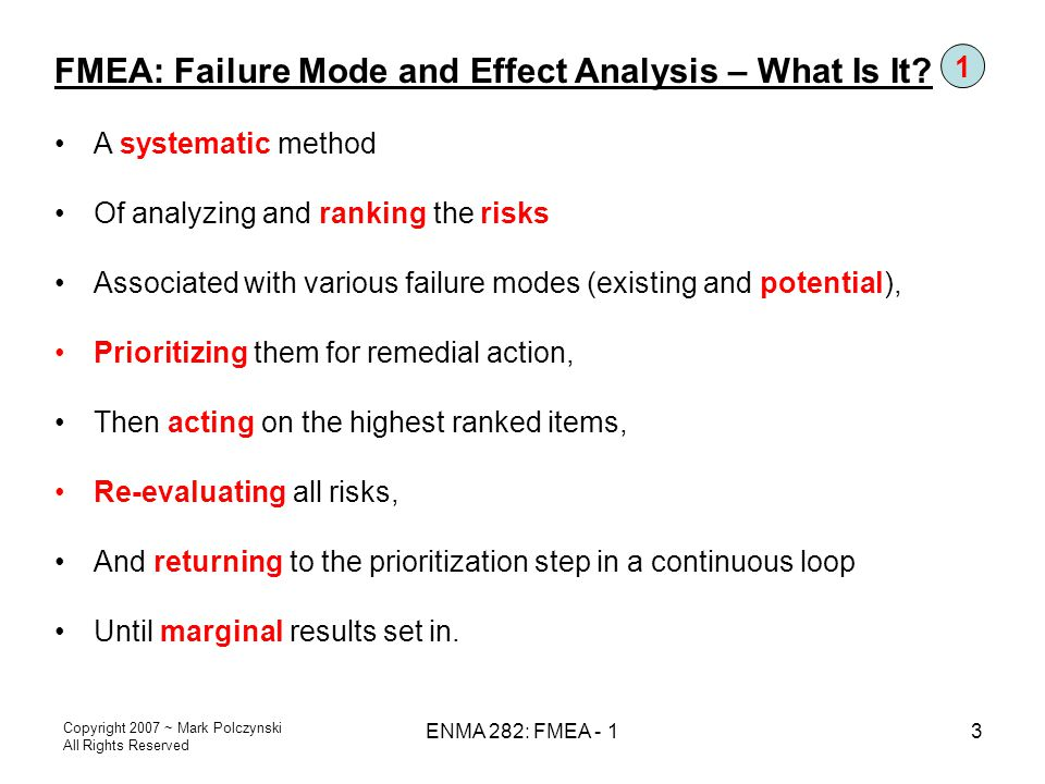 FMEA: Failure Mode and Effect Analysis – What Is It