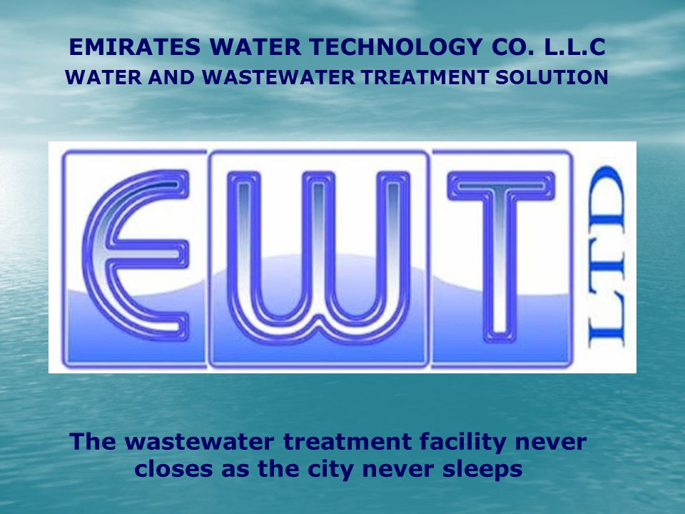 EMIRATES WATER TECHNOLOGY CO. L.L.C