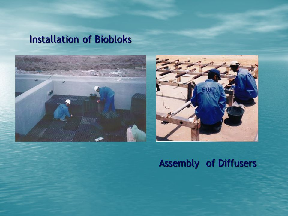 Installation of Biobloks