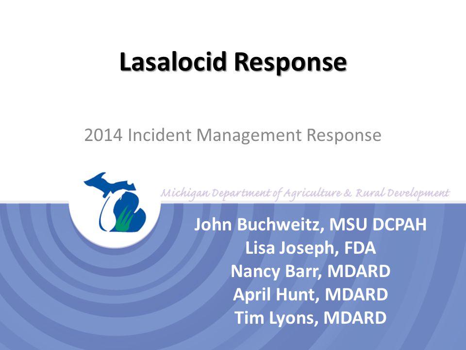 2014 Incident Management Response