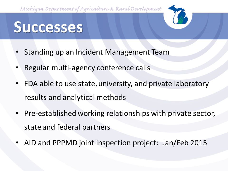 Successes Standing up an Incident Management Team