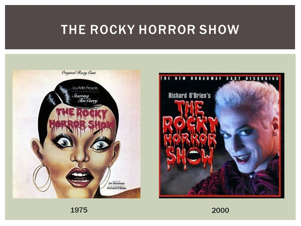 THE ROCKY HORROR SHOW 1975 2000