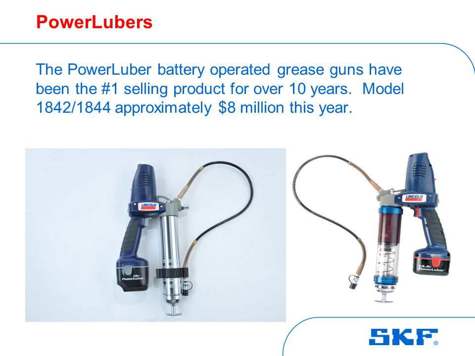 PowerLuber markets PowerLuber markets include: Transportation