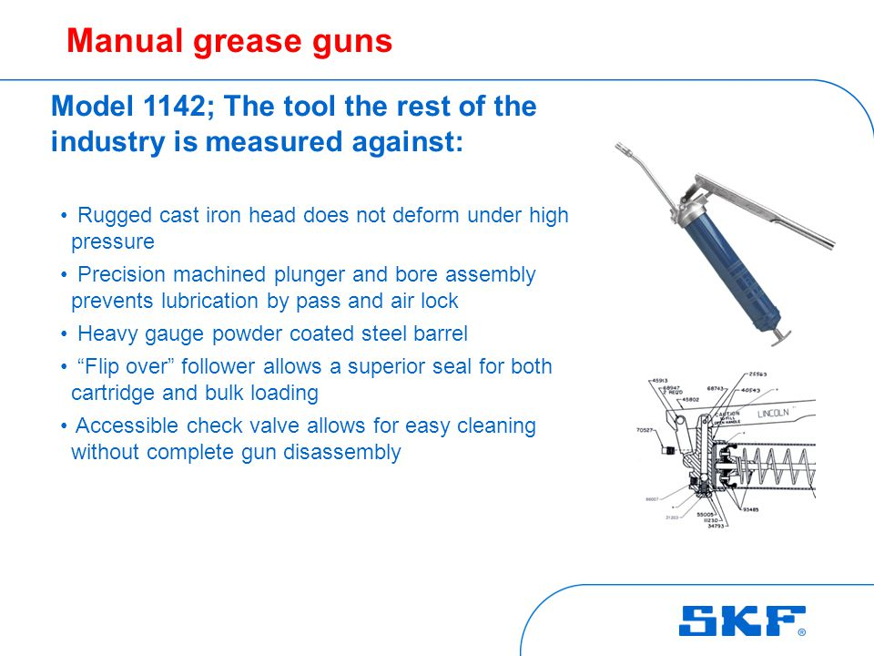 Pneumatic grease gun MODEL 1162