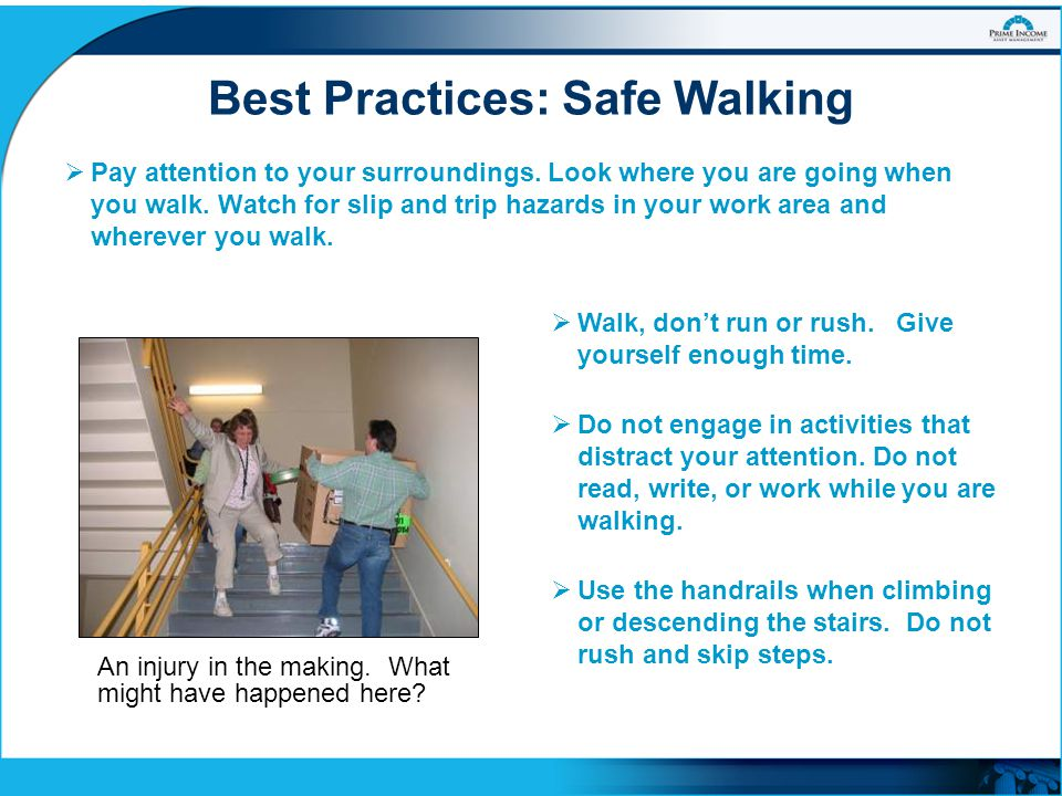 Best Practices: Safe Walking