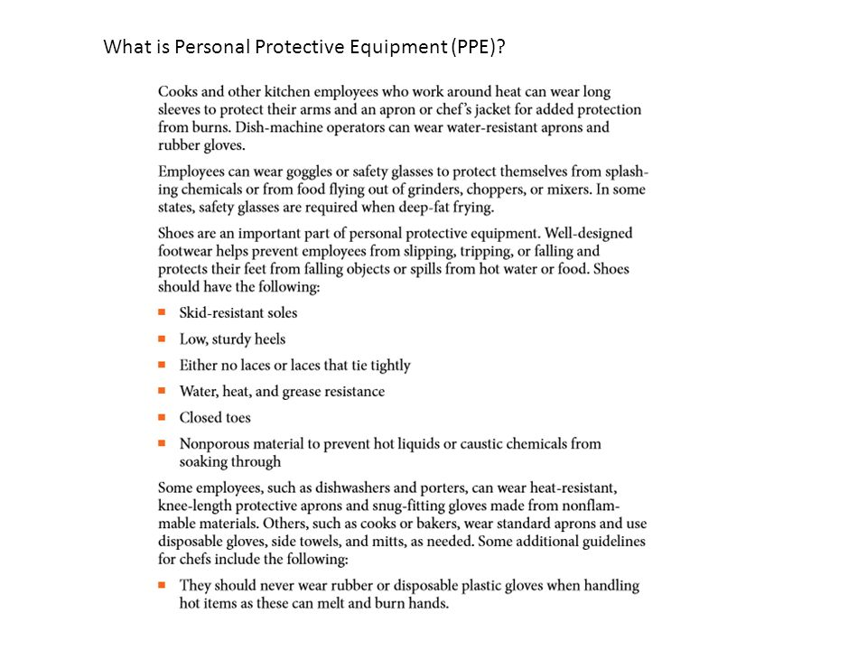 What is Personal Protective Equipment (PPE)