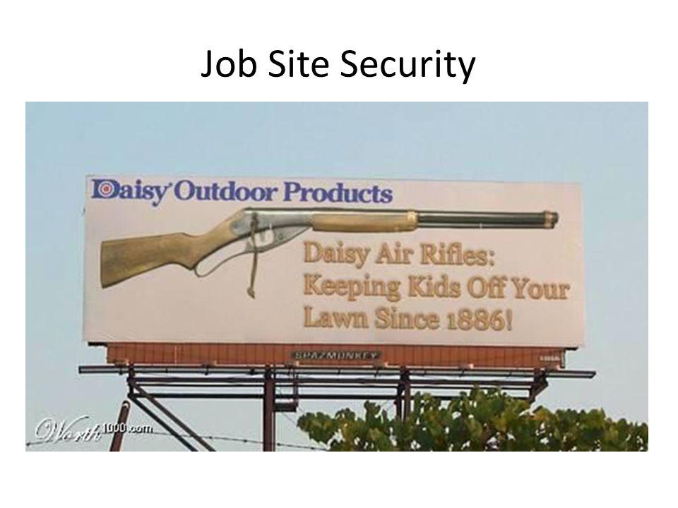 Job Site Security