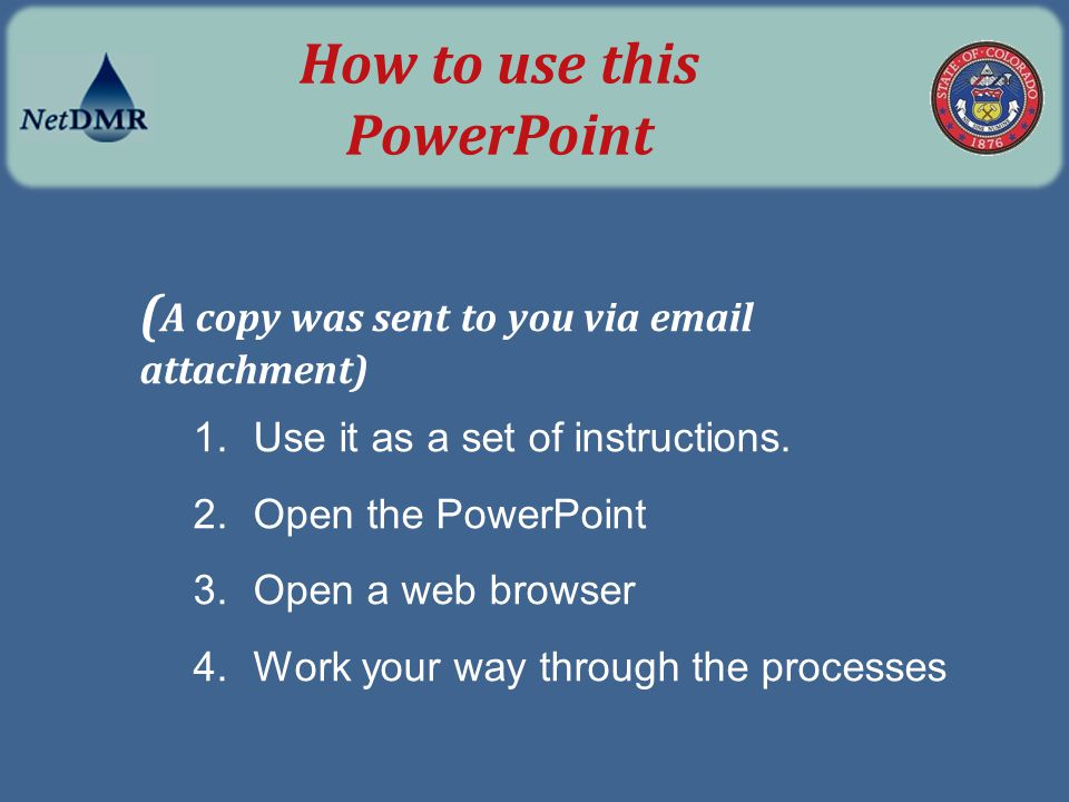 How to use this PowerPoint