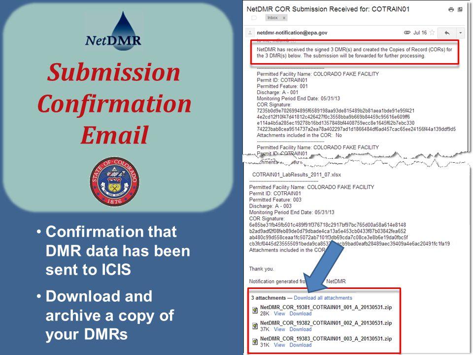 NetDMR Permittee Training Program