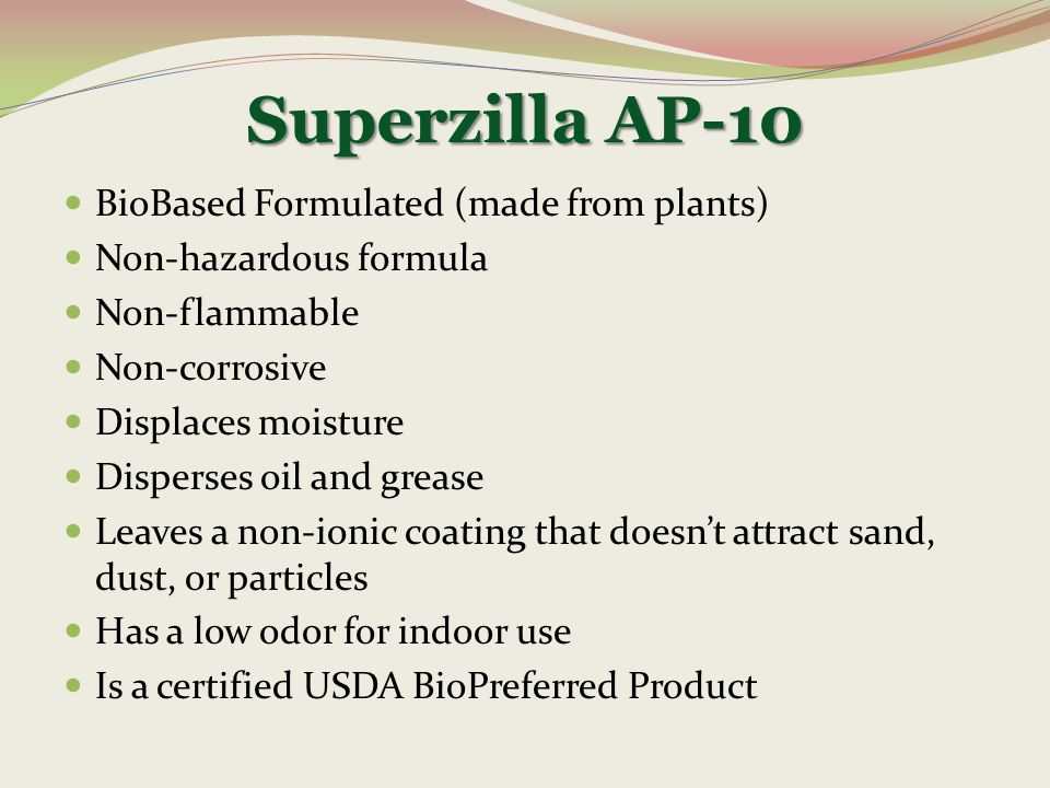 Superzilla AP-10 BioBased Formulated (made from plants)