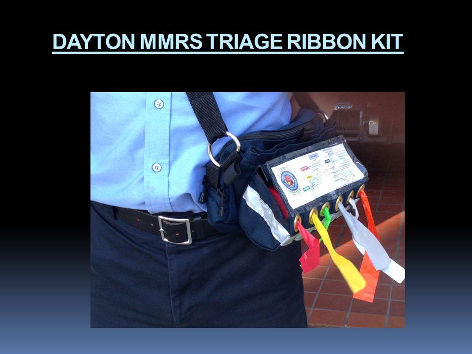 DAYTON MMRS TRIAGE RIBBON KIT