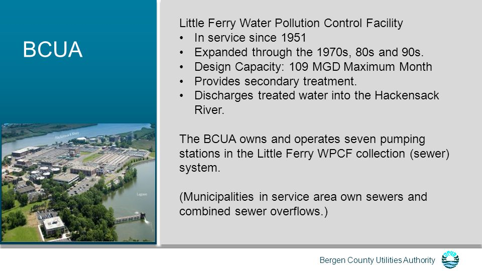 BCUA Little Ferry Water Pollution Control Facility