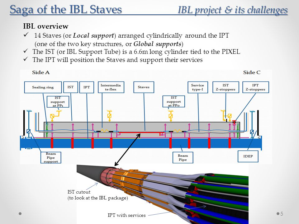 Saga of the IBL Staves IBL project & its challenges