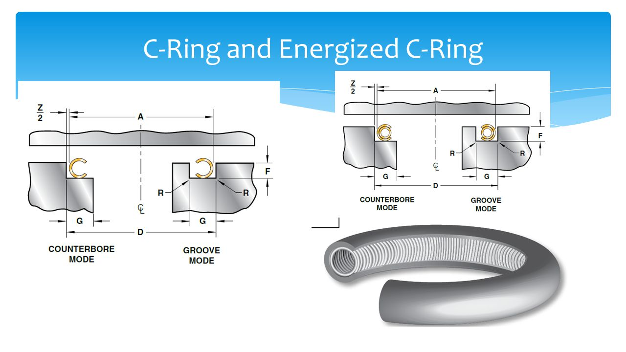 C-Ring and Energized C-Ring