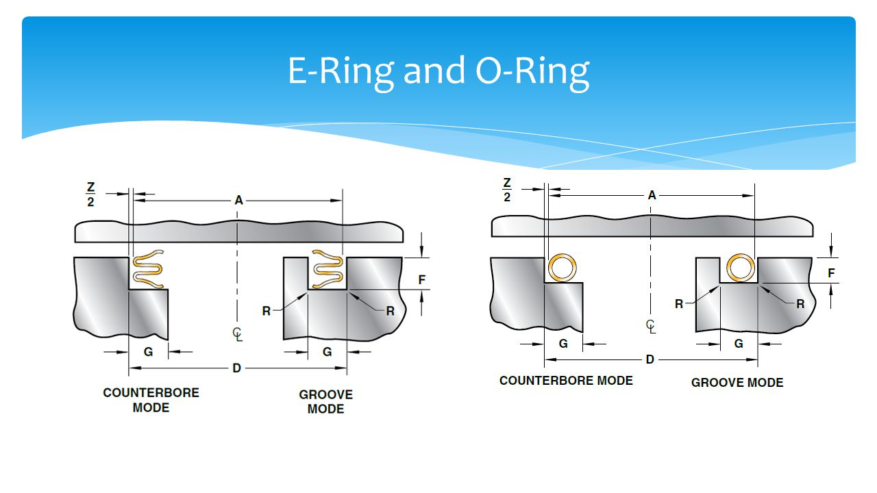 E-Ring and O-Ring