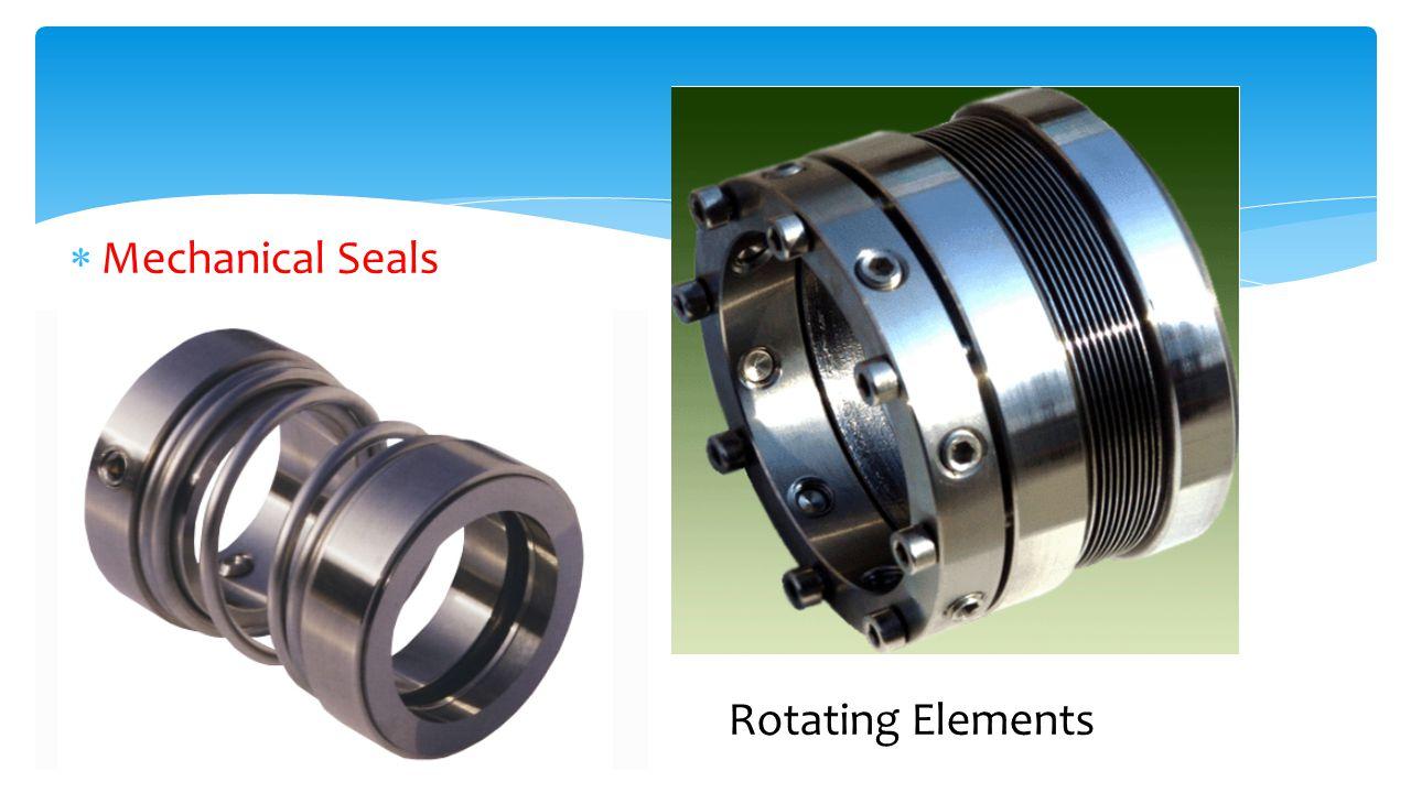 Mechanical Seals Rotating Elements