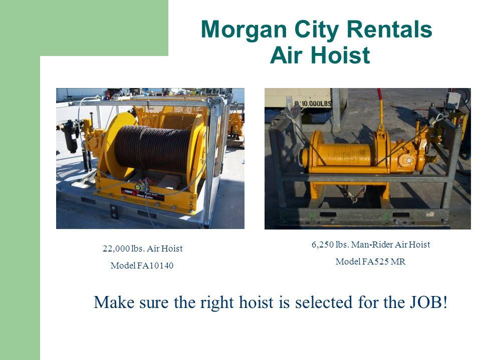 Morgan City Rentals Air Hoist