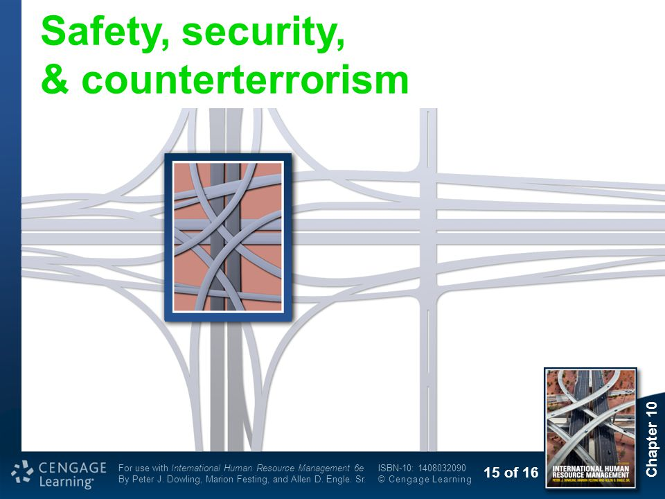 Safety, security, & counterterrorism