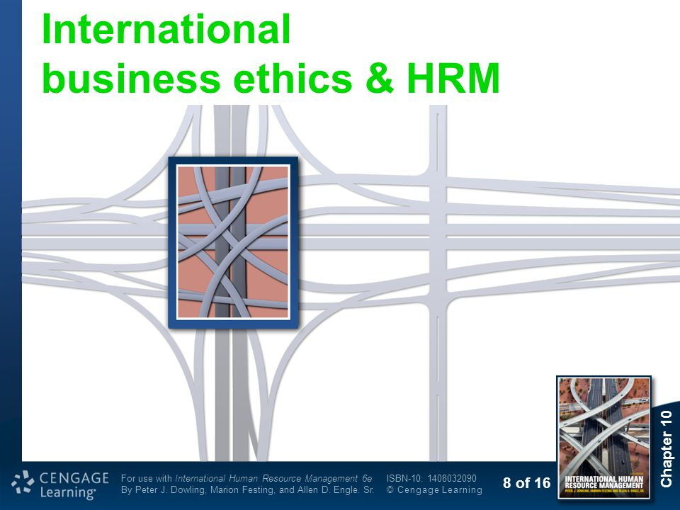 International business ethics & HRM