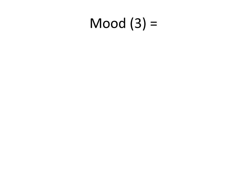 Mood (3) =