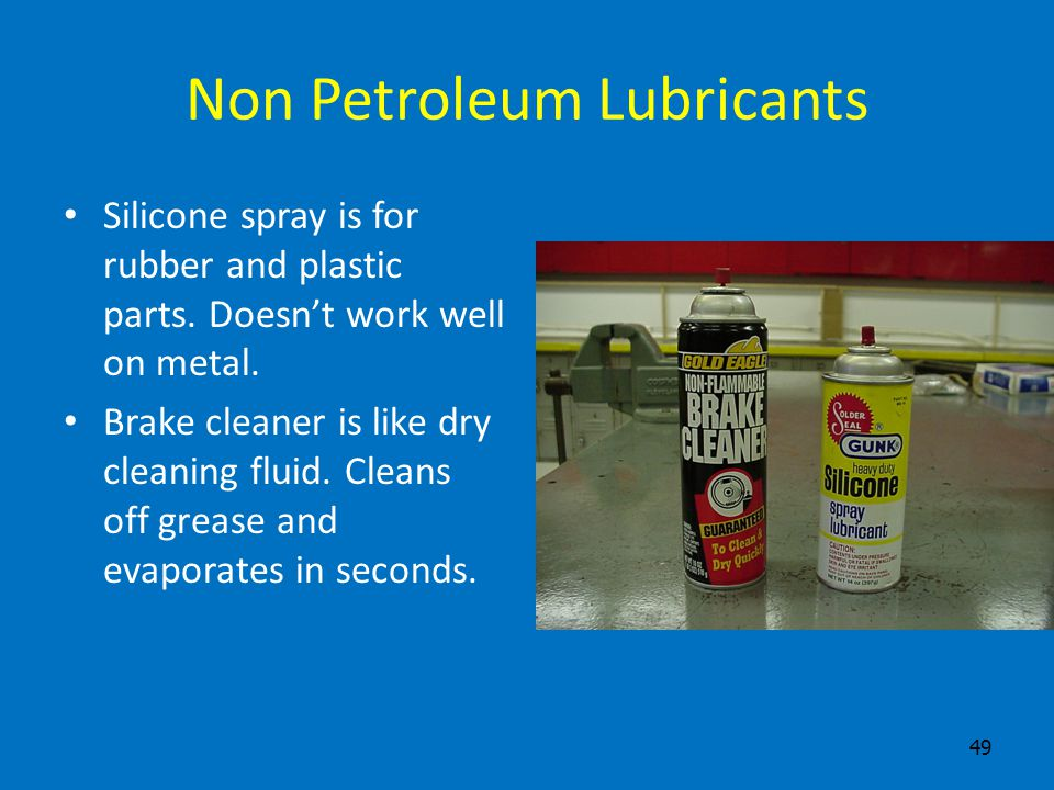 Non Petroleum Lubricants