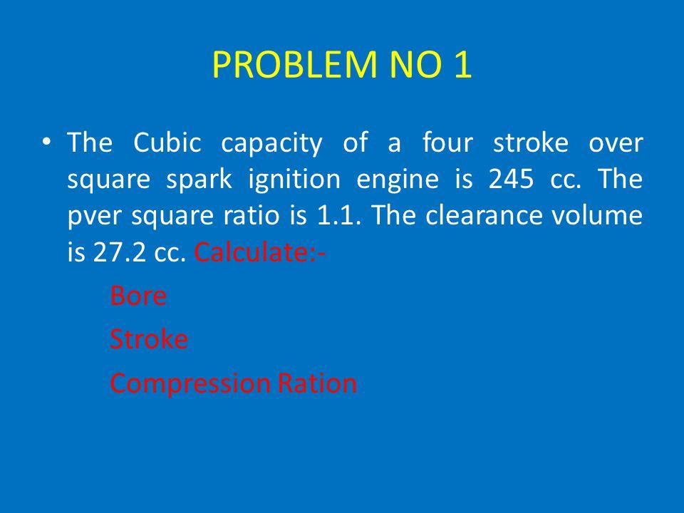 PROBLEM NO 1