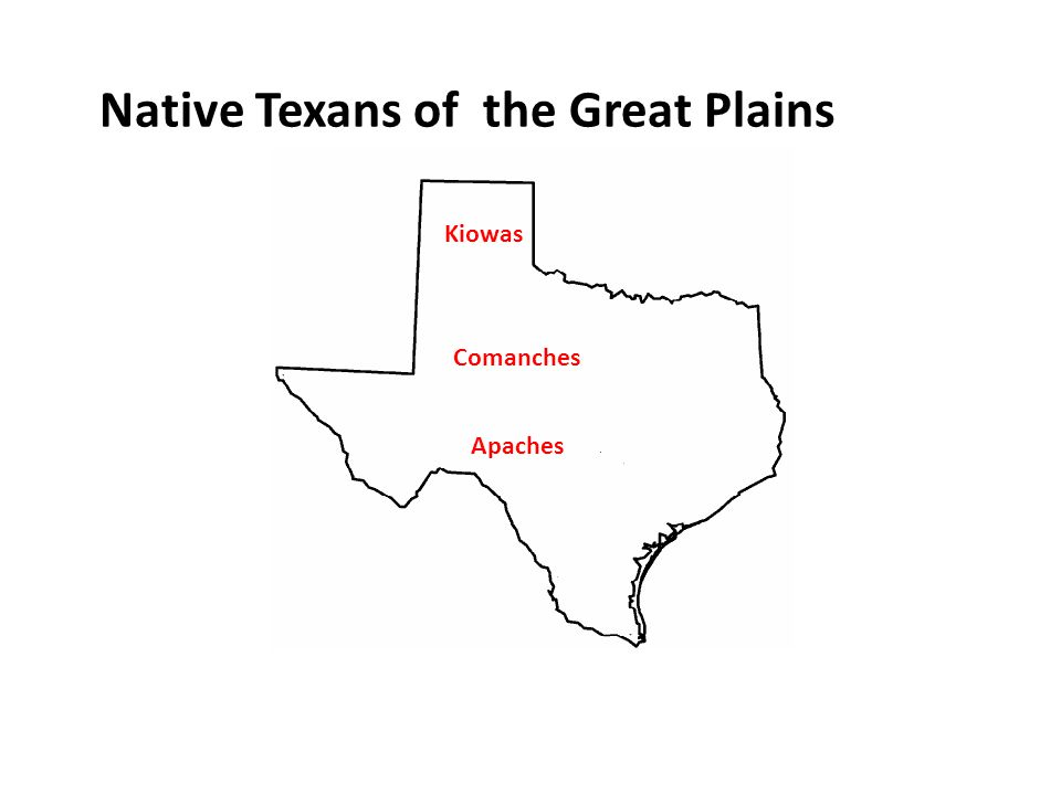 Native Texans of the Great Plains