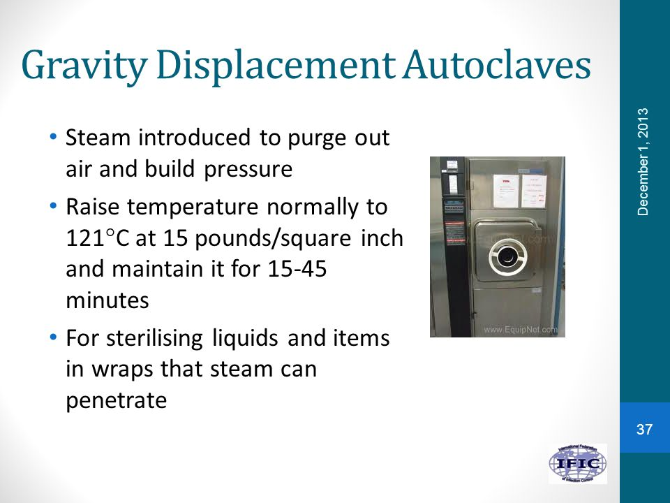 Gravity Displacement Autoclaves