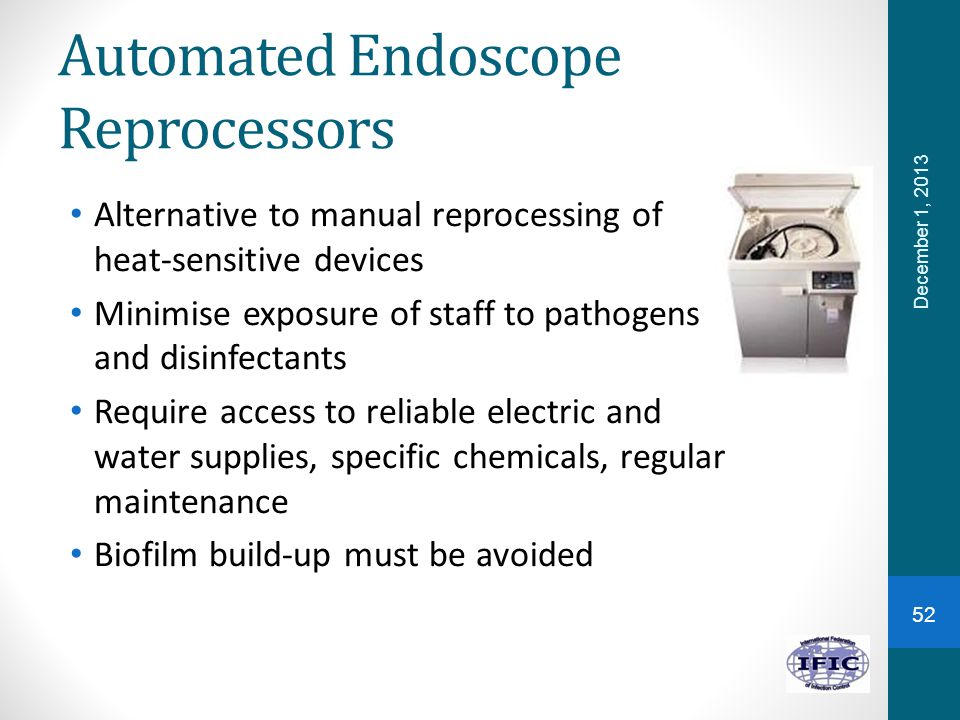 Automated Endoscope Reprocessors
