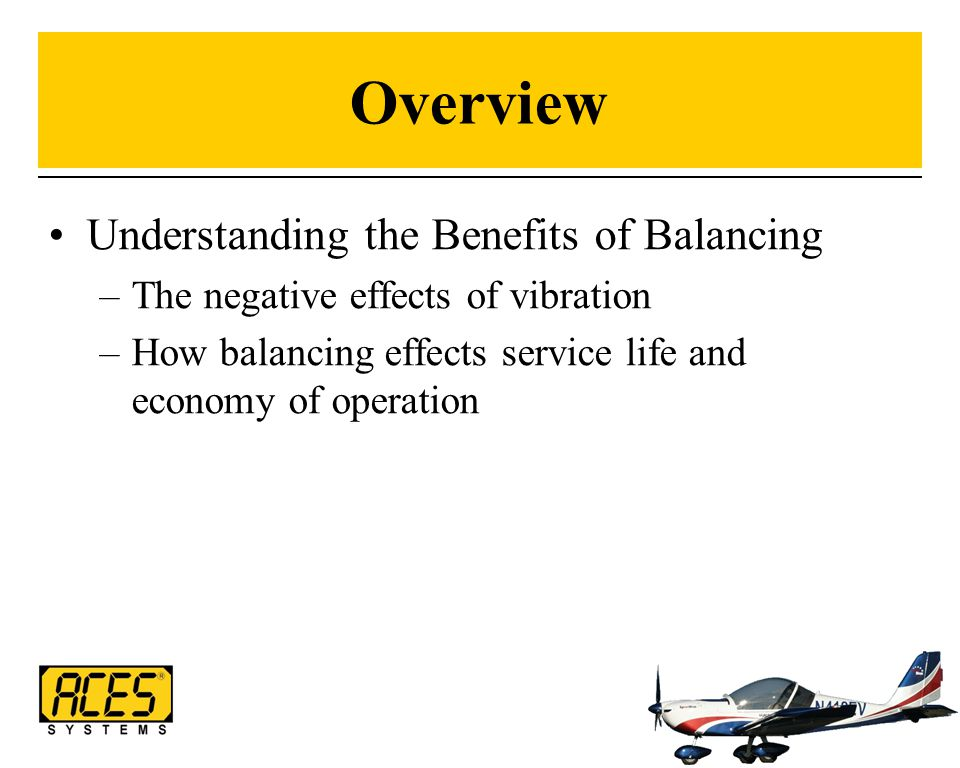 Overview Understanding the Benefits of Balancing
