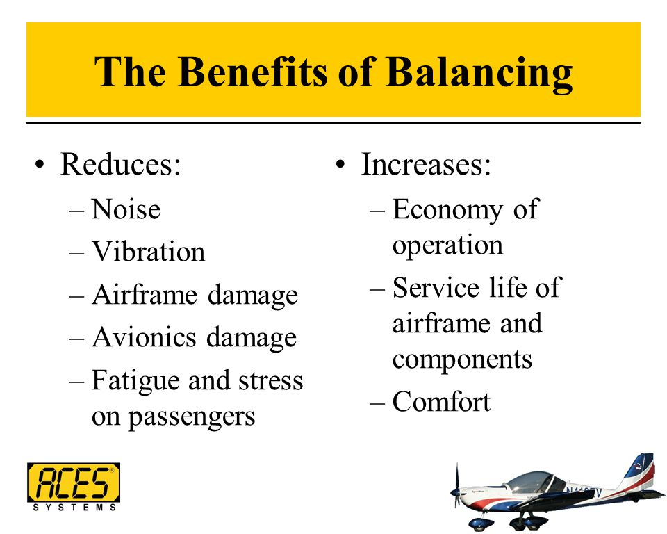 The Benefits of Balancing