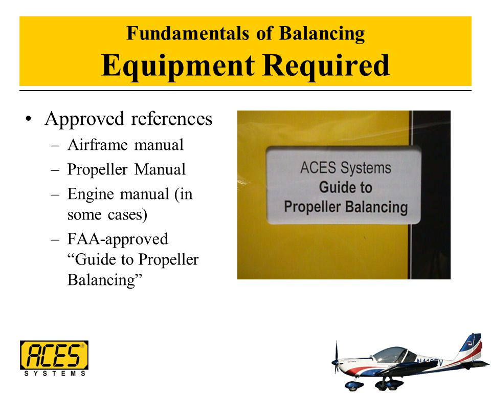 Fundamentals of Balancing Equipment Required