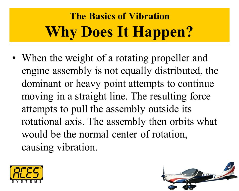 The Basics of Vibration Why Does It Happen
