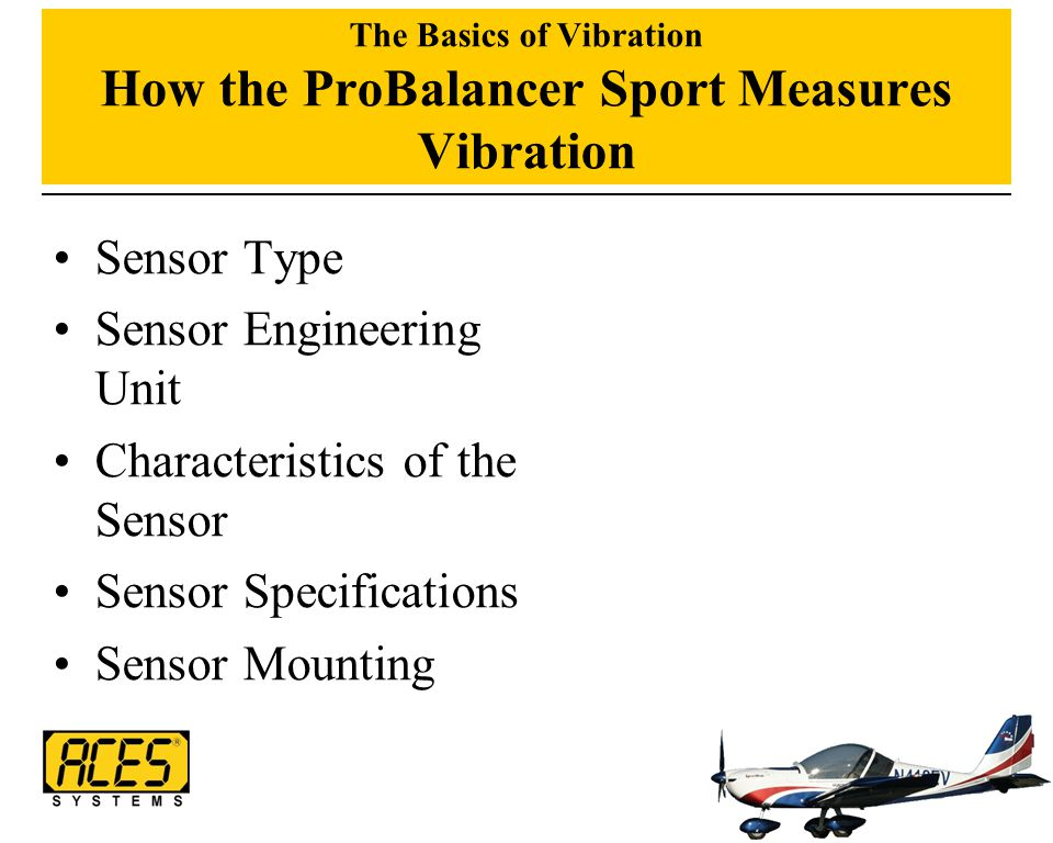 The Basics of Vibration How the ProBalancer Sport Measures Vibration