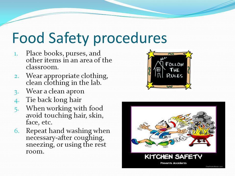 Food Safety procedures