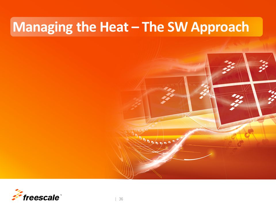 Software Thermal Management Techniques Software Leverages Hardware