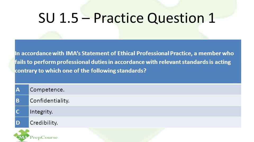 SU 1.5 – Practice Question 1