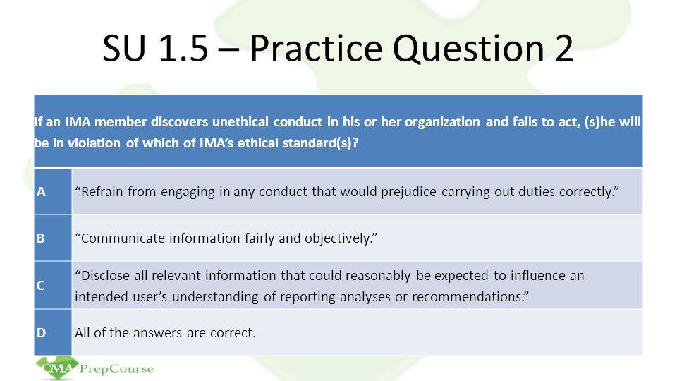 SU 1.5 – Practice Question 2
