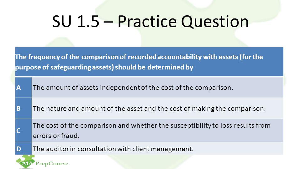 SU 1.5 – Practice Question
