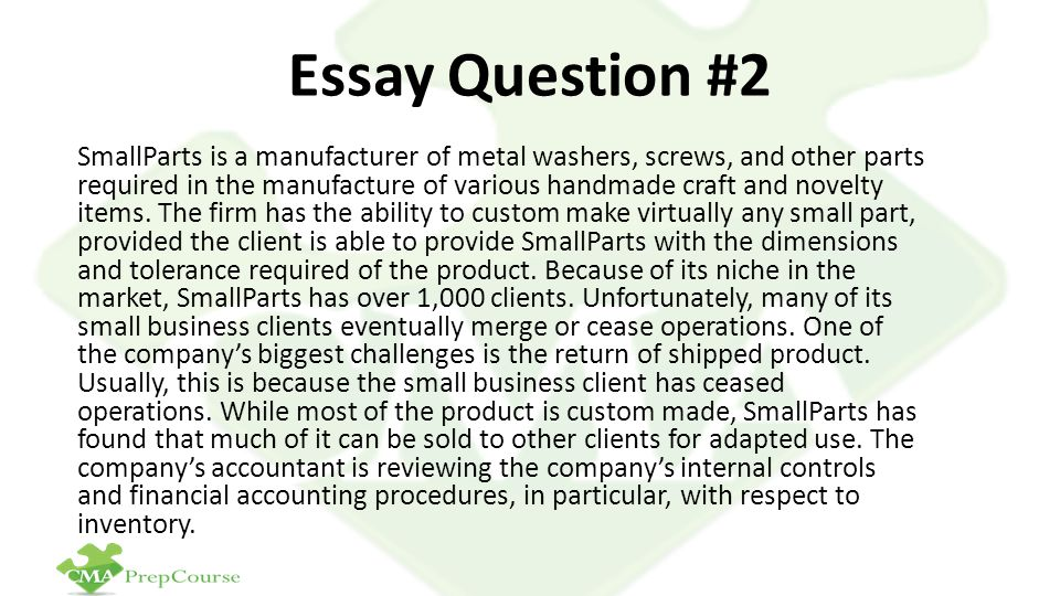 Essay Question #2
