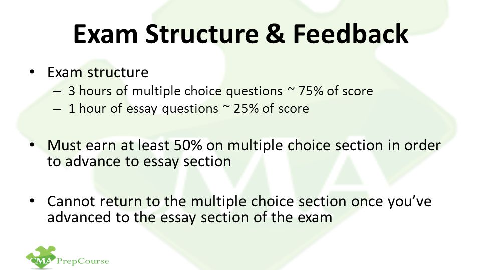 Exam Structure & Feedback