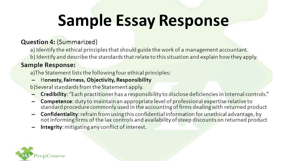 ethical essay Essay on Ethics